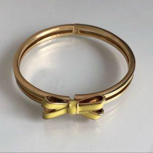 KATE SPADE Yellow Gold Bow Bracelet